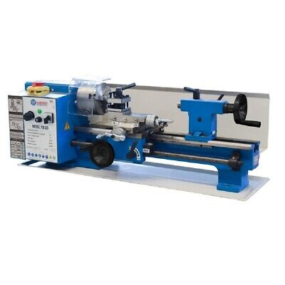 "WEISS Variable Speed 7"" x 14"" Benchtop Brushless Mini Metal Lathe"