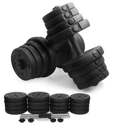 2X Dumbbell Set Fitness Free Exercise Home Gym Bicep Weight Training 30kg