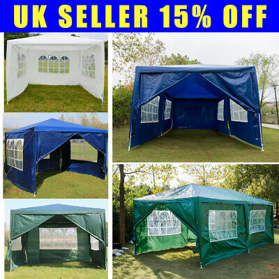 Heavy duty 3x6m 3x4m 3x3m gazebo marquee outdoor party gazibo gazeebo with sides
