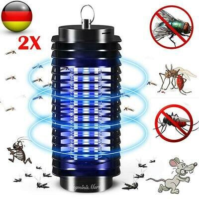 2x mosquito asesino insecto asesino UV LED insecto trampa para mosquitos
