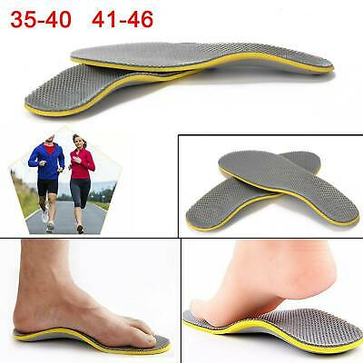 Orthotic Gel Insoles for Arch Support Plantar Fasciitis Flat Feet Back Heel Pain