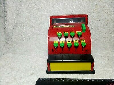 Vintage Tin Toy Cash Register OKS ATO Japan Made Collectible