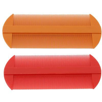 Creative Double Sided Nit Combs for Head Lice Detection Comb Kids Pet FI