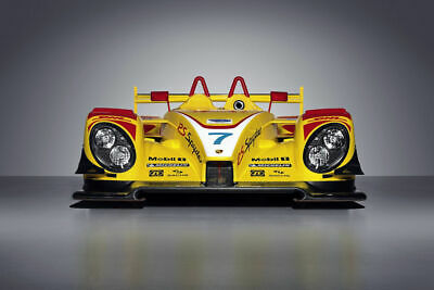 264234 2008 Porsche Rs Spyder Le Mans Race Car Wall Print Poster Us