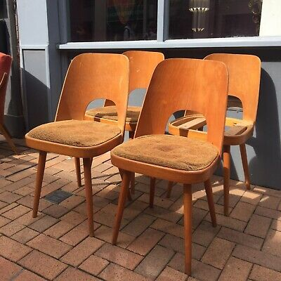 OLD SCHOOL STACKING CHAIRS VINTAGE RETRO STACKABLE SEATING SLATTED WOODEN CHAIR Antiques