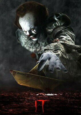 263511 Movie Pennywise Stephen King Horror 2017 WALL PRINT POSTER CA