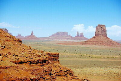 264255 Monument Valley Landscape Wall Print Poster Ca