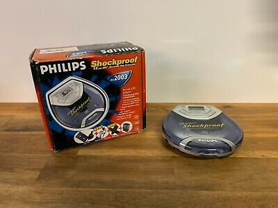Philips AX2003 Shockproof 12 ESP Portable CD Player Discman