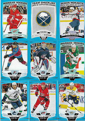 2019-20 O-Pee-Chee Hockey Parallel Blue Border (((Pick Your Card)))