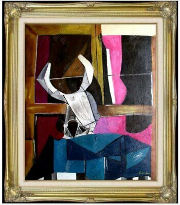 Framed Quality Hand Painted Oil Painting Untitled Abstract 12, 20x24in