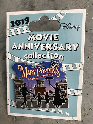 Disney Mary Poppins 55th Anniversary Cast Exclusive Pin LE Movie Collection