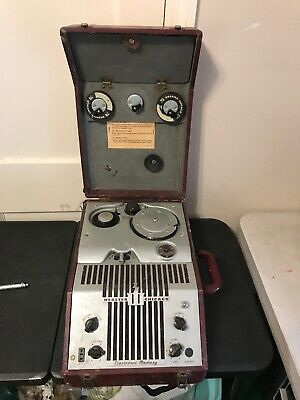 180-1 Vintage 1949 WEBSTER CHICAGO Electronic MEMORY WIRE RECORDER with MIC