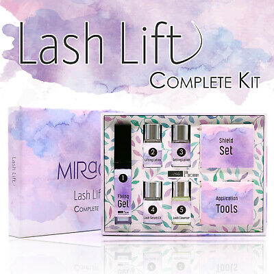 Lash Lift Kit MIRACLE Keratin Perm Curl Eyelash Extension Adhesive Pad Lotion
