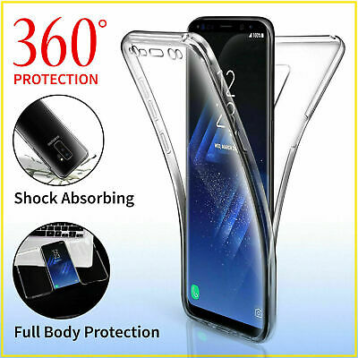 Samsung Galaxy S10 S9 S7 S8 S20 Plus Full Protective Clear Shockproof Case Cover