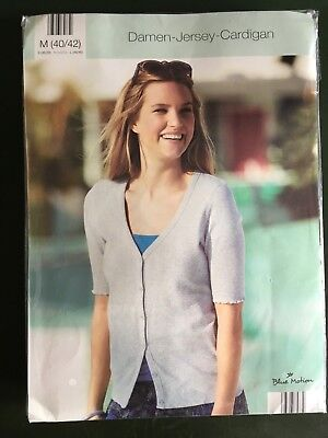 JERSEY CARDIGAN~M~4042~BLUE MOTION~DESIGNED by Jette Joop