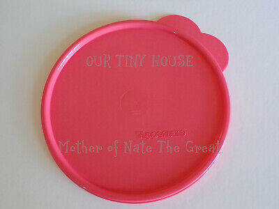 Tupperware Seal Replacement C Lid Butterfly-Tabbed Wonderlier GUAVA PINK 2541