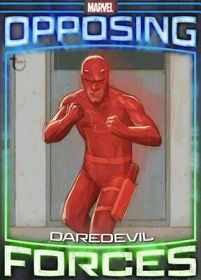 Topps Marvel Collect Daredevil vs. Bullseye Opposing Forces Week #3 DIGITAL TILT