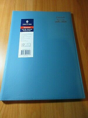 1 x Blue 2019 2020 Financial Year Diary Collins Vanessa A4 Week to View  WTV FY