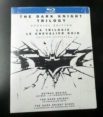 (lup) The Dark Knight Trilogy Special Edition - Blu-Ray