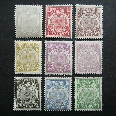 GB UK QV 1885 - 1893 Stamps MNH Coat of Arms Transvaal British Colony Occupation
