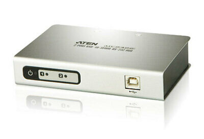 Aten USB to 2 Port Serial RS-232 Hub [4F99] LD2-UC2322-AT