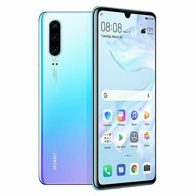 NEW Huawei P30 ELE-L29 128GB 8GB Dual SIM Unlocked - Breathing Crystal
