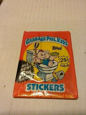 Garbage Pail Kids cards 6th series one Unopened pack