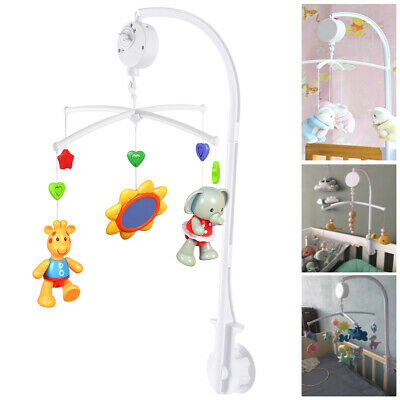 Baby Crib Mobile Bed Bell Toy Holder Arm Bracket For Hanging Music Box doll CA