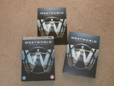 Westworld Season One The Maze:  Region 2 Dvd Bought New Watched Once