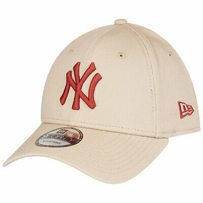 NEW ERA 9FORTY BASEBALL CAP.NEW YORK YANKEES MLB RED COTTON STRAPBACK HAT 9S1 74