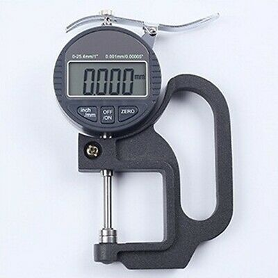 LCD 24.5mm 0.001mm Digital Micrometer Electronic Thickness Gauge Depth Meter