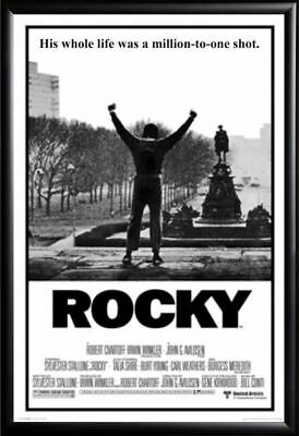 269607 ROCKY MOVIE Real WALL PRINT POSTER AU