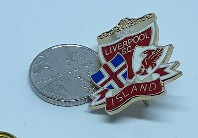 Liverpool Football Supporters Island (Iceland) 2006 Club Pin.badge (49)