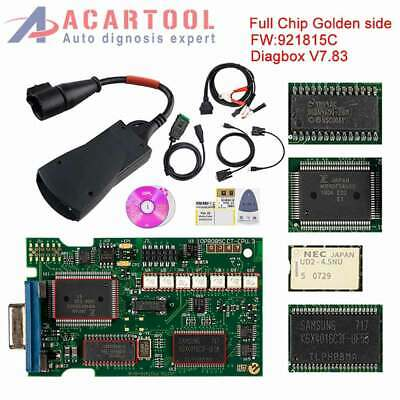 PP2000 NEC Full Chip Lexia3 Diagbox V7.83 921815C Diagnostic for Citroen/Peugeot