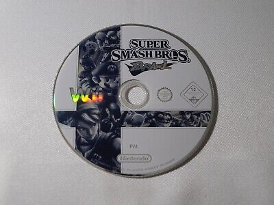 Super Smash Bros Brawl Loose CD Seul Nintendo Wii