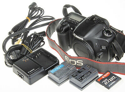 Canon EOS 30D Digital SLR Camera with 2 batteries, USB cable | good condition