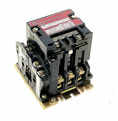 Square D 8903SMG3 30 Amp 600 Vac Lighting Contactor w/277 Vac Coil (Z4)