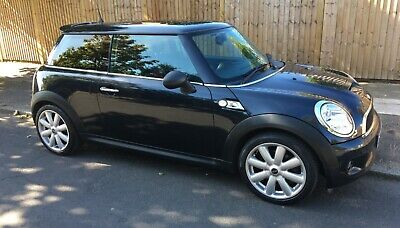 2007 Mini Cooper S Panoramic Electric Roof Leather Trim Service History Cooper S