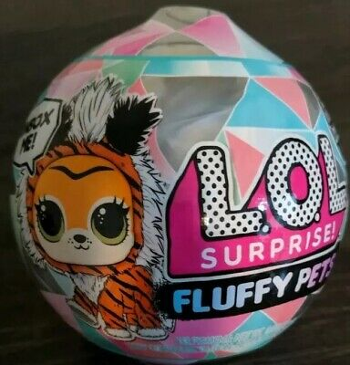 ✨NEW LOL Surprise Winter Disco Fluffy Pets Sealed Balls Removable Fur Series 6✨