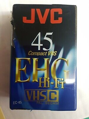 Jvc 45EhgCompact Vhs Camcorder Video Tape Cassette