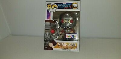 Funko Pop Marvel #209 Star-Lord Guardians Vol 2 ToysRUs Exclusive Protector Case