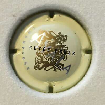 Capsule de Champagne cuvée Perle Blanche n°3a SAMPERS Claude