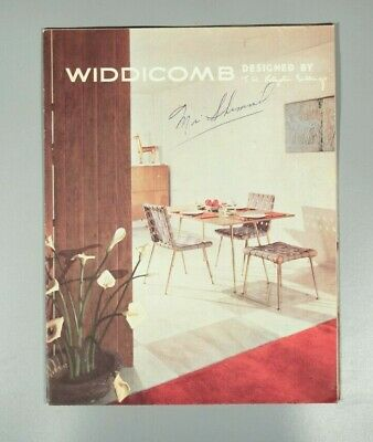 Rare Widdicomb furniture Designed by Robsjohn-Gibbings trade catalogue 1954