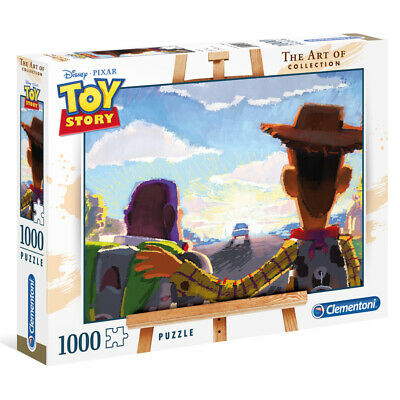 Clementoni The Art of Collection Disneys Toy Story 1000 Piece Jigsaw Puzzle NEW