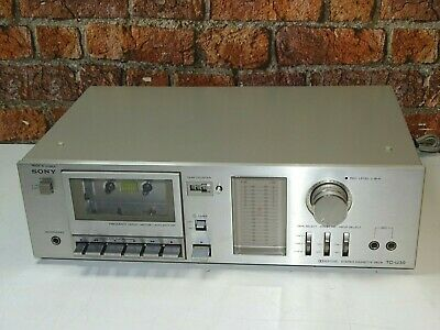 BOXED! Sony C-U30 Hi Fi Separates Vintage Cassette Recorder & Player + Manual