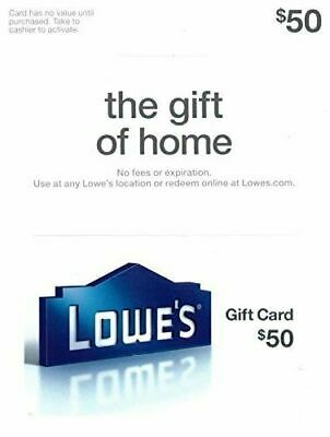 Lowe's 50 USD Gift Card