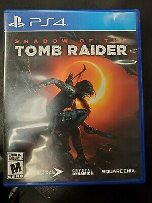 Shadow of the Tomb Raider Playstation 4 PS4 Game