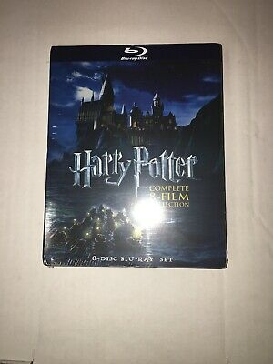 Harry Potter: Complete 8-Film Collection (Blu-ray Disc, 8-Disc Set) read/see pic