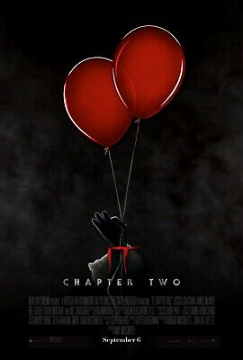 It: Chapter Two 2019 Movie Poster Print A0-A1-A2-A3-A4-A5-A6-MAXI - C420