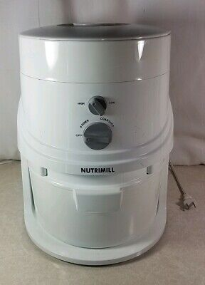 Nutrimill Classic Grain Mill with Manual HS4.3 TESTED FULLY FUNCTIONAL